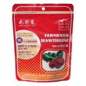 發酵山楂紅果